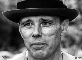 Joseph Beuys, foto de 1980.