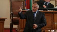 Bulgarien Parlement Ministerpräsident Boyko Borissov