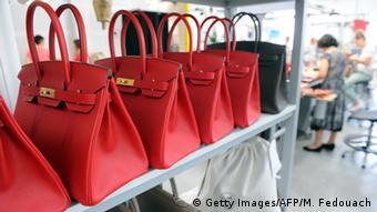 Birkin Bag des französischen Labels Hermès (Getty Images/AFP/M. Fedouach)