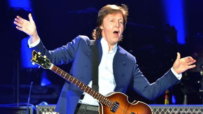 Paul McCartney en el escenario