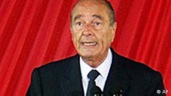 Chirac droht mit Nukes