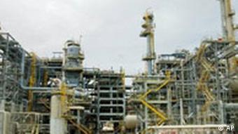 Anlage Flüssiggas in Katar
