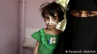 Jemen Kinder Hunger (Reuters/K. Abdullah)