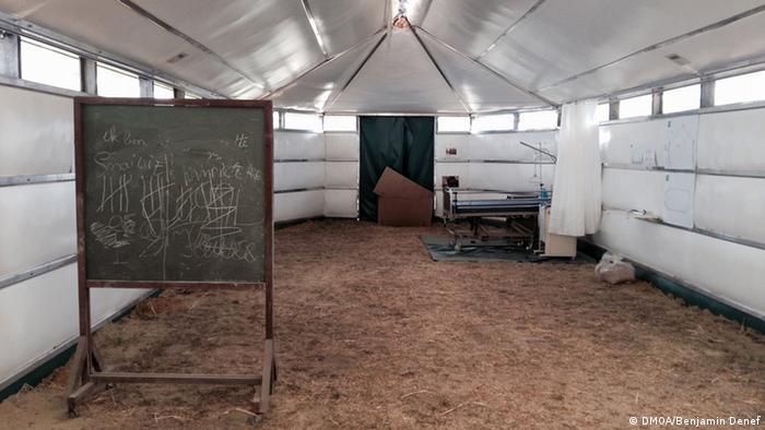 Belgien Maggie Flüchtlingszelt Prototyp