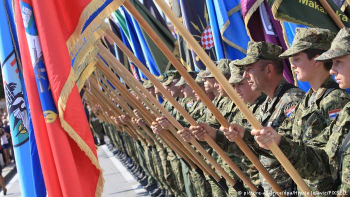 19. Jahrestag Operation Oluja in Knin