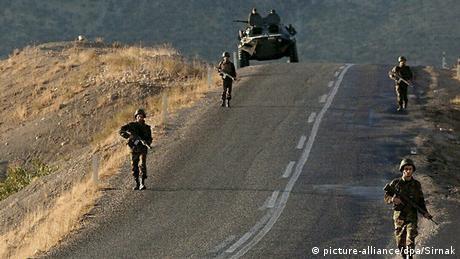 Türkische Soldaten Sirnak 2007