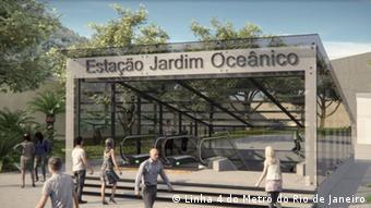 A aguardada Linha 4 do metrô do Rio de Janeiro, na Barram deve ser inaugurada um mês antes dos Jogos