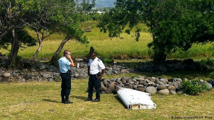 La Reunion Saint Andre Flugzeugwrackteil Wrack Teil Flugzeug