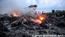 Ukraine Trümmer Malaysia Airlines Flug MH17