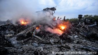 Ukraine Trümmer Malaysia Airlines Flug MH17 (picture-alliance/dpa/A. Zykina)