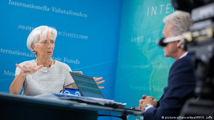 USA Christine Lagarde IWF Online-PK