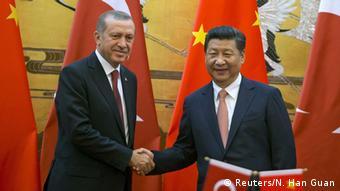 Türkiye Cumhurbaşkanı Recep Tayyip Erdoğan ve Çin Devlet Başkanı Şi Cinping
