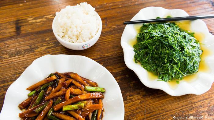 الغذاء الصحي في الطب الصيني التقليدي منوعات نافذة Dw عربية على حياة المشاهير والأحداث الطريفة Dw 28 08 2015
