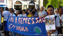 Portugal Demonstration in Largo de São Domingos in Lissabon