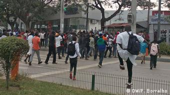 Demonstration Luanda