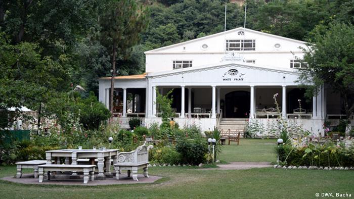 Pakistan weiße Palast in Swat-Tal (DW/A. Bacha)