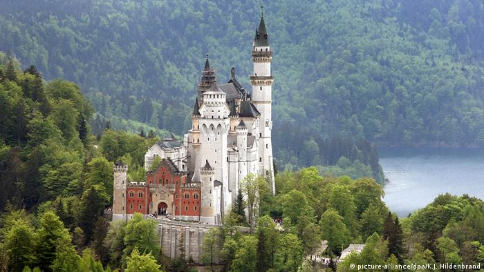 Neuschwanstein Castle, Copyright: dpa/picture-alliance/ KJ Hildenbrand