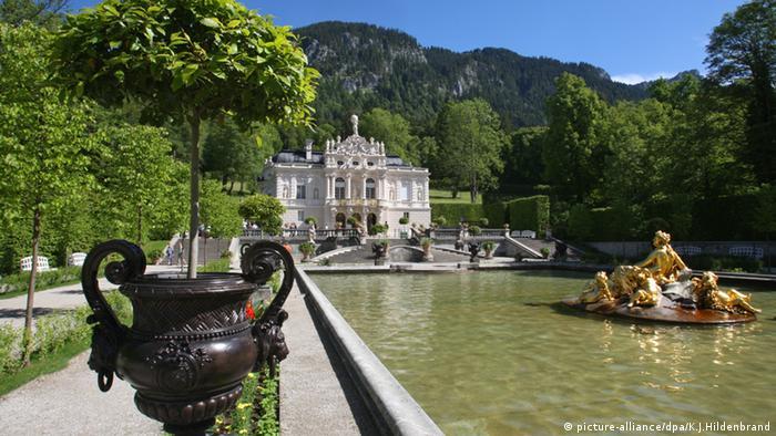 Bildergalerie Happy Birthday Ludwig Schloss Linderhof bei Ettal