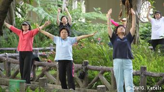 Nur für Life Links - Tai Chi im Park