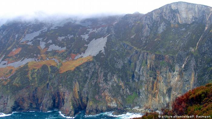 Irland Seeklippen Slieve League im Westen der Grafschaft Donegal