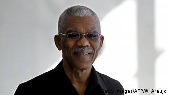 David Granger, el nuevo presidente de Guyana.
