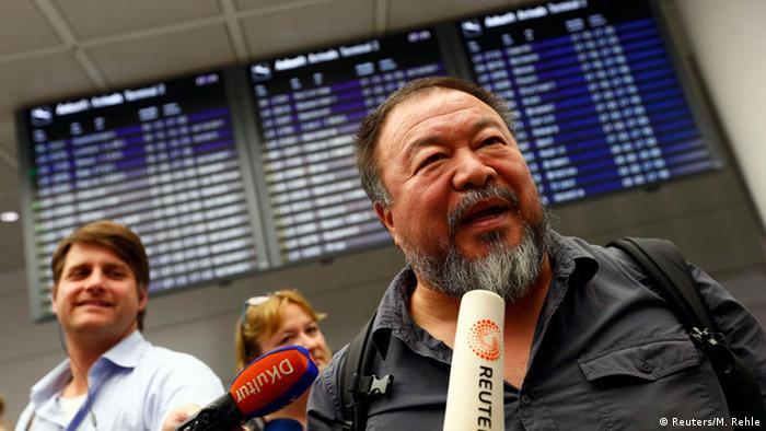آی ویوی، هنرمند مشهور به وجدان اجتماعی چین وارد مونیخ شد