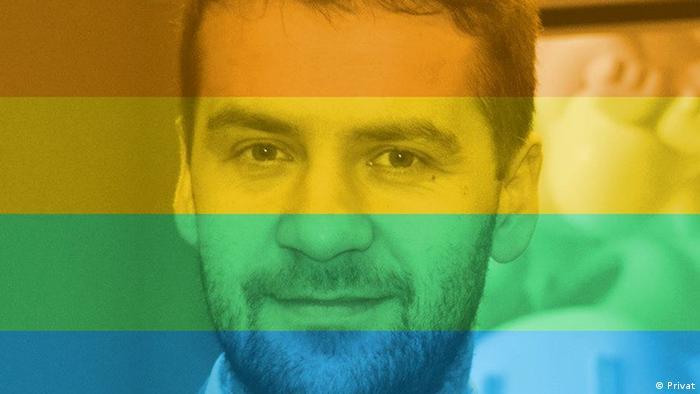 Зорян Кісь - активіст української ЛГБТ-спільноти