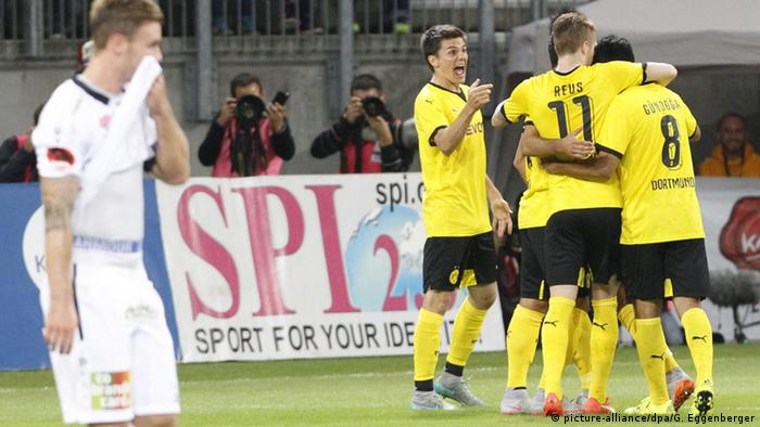 UEFA Euro League Qualifikation Wolfsberger AC vs Borussia Dortmund