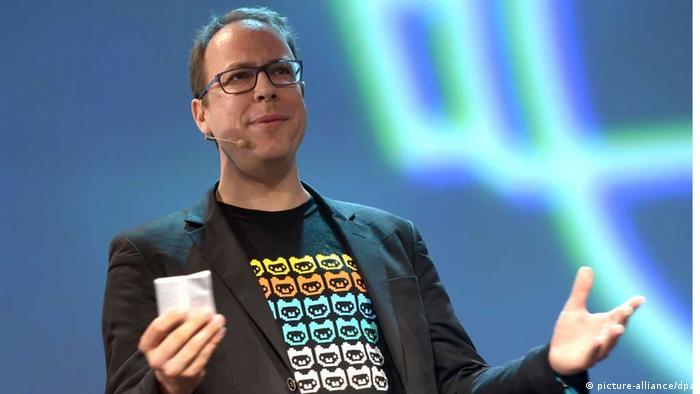 Der netzpolitische Aktivist Markus Beckedahl, Gründer von Netzpolitik.org