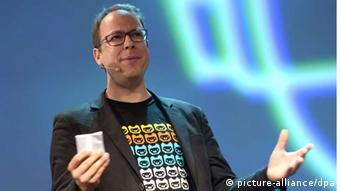 Ο Μάρκους Μπέκενταλ, ιδρυτής του μπλογκ Netzpolitik.org