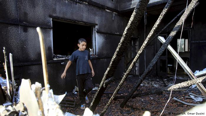 Israel Westjordanland Brandanschlag in Kafr Duma bei Nablus