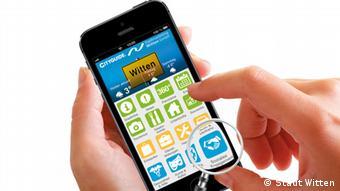 Die CityGuide App der Stadt Witten. (Foto: Stadt Witten)
