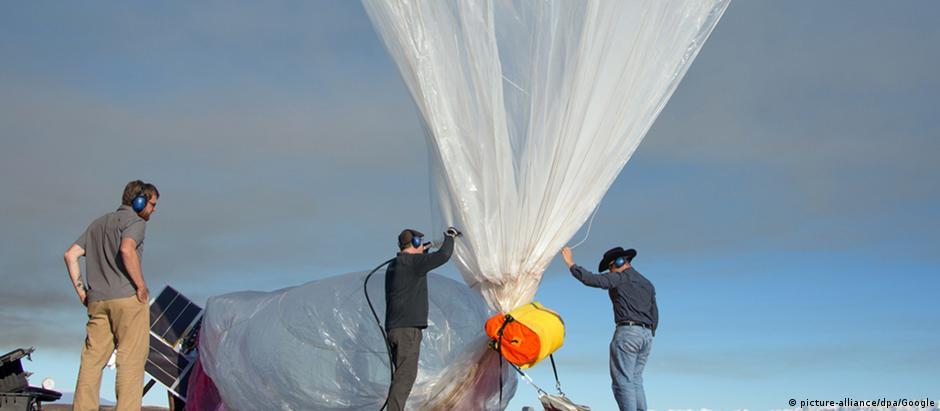 Para Projeto Loon, Google realizou testes no Pacífico e nas Américas