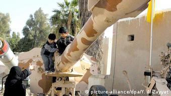 Kuweit Irak Panzer