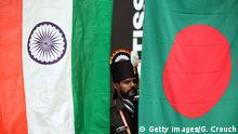 Indien Bangladesch Fahne Flagge