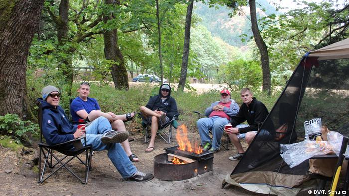 USA Neuer Camping-Trend