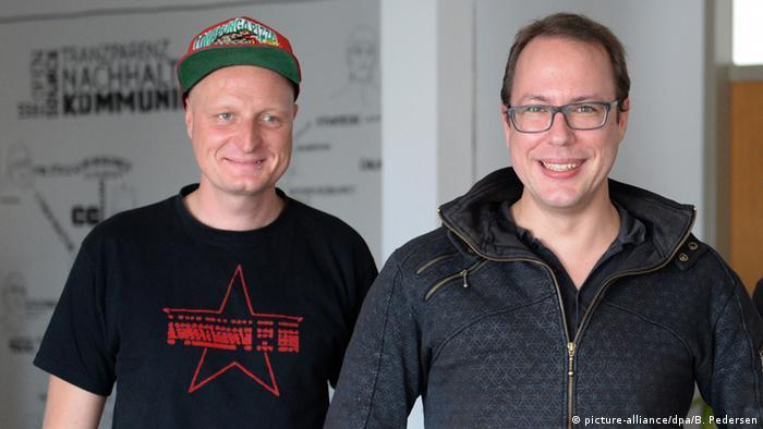 Markus Beckedahl dhe Andre Meister