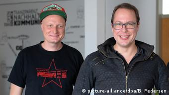 Markus Beckedahl und Andre Meister Netzpolitik.org