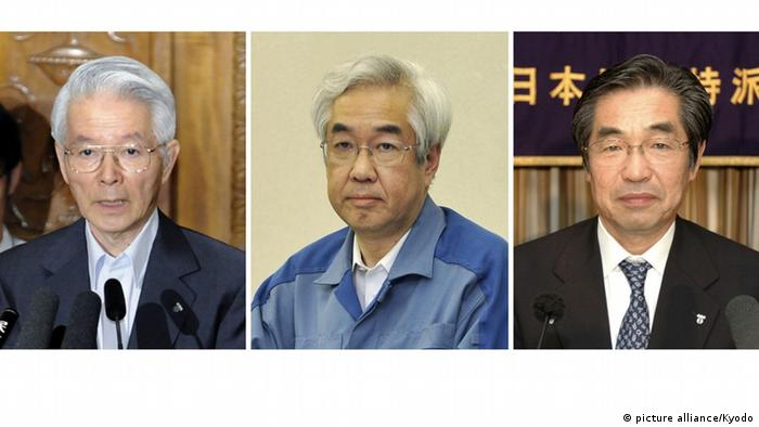 Former TEPCO executives (picture alliance/Kyodo)