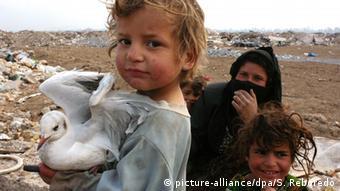 Irakkrieg Armut Kinder