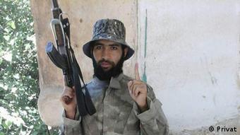 Afghanistan Kämpfer von IS Qari Abdulbasir