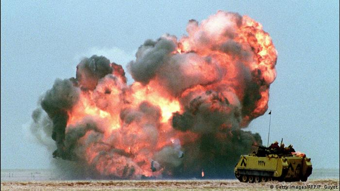 The events that led to the 1991 gulf war