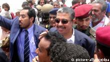 Jemen Regierungschef Bahah besucht Aden
