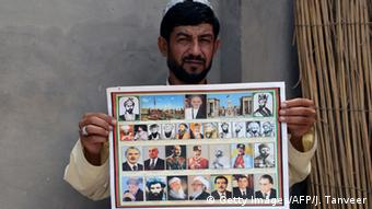 Calendar featuring Taliban leaders