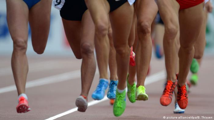 Соревнование по бегу среди женщин