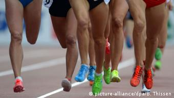 Symbolbild Leichtathletik Laufen