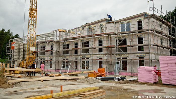 Строительство нового центра для беженцев