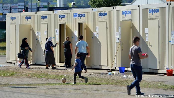 Строительные вагончики, как жилье для беженцев