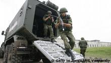 Symbolbild Russische Spezialeinheit