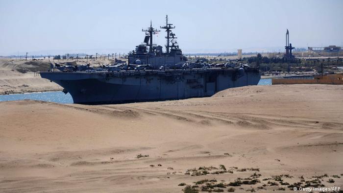 Symbolbild USA Ägypten militärische Kooperation